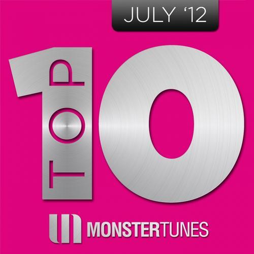 Album Art - Monster Tunes Top 10 - July 2012