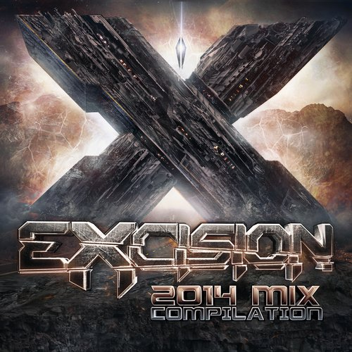 Excision 2014 Mix Compilation Album Art