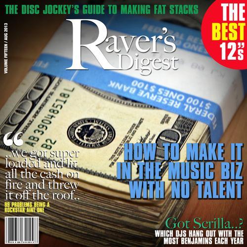 Ravers Digest (August 2013) Album Art