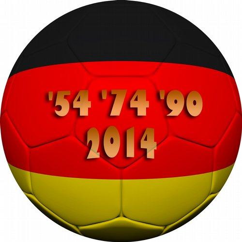 Album Art - 54, 74, 90, 2014 Fussball WM (Wir werden Weltmeister, Stadion Club Hits)