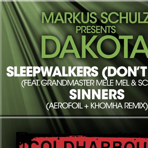 Album Art - Sleepwalkers (Don't Stop) / Sinners - The Remixes