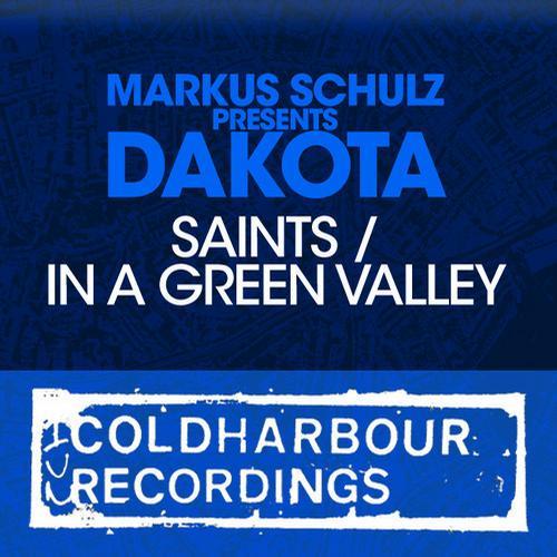 Album Art - Saints / In A Green Valley