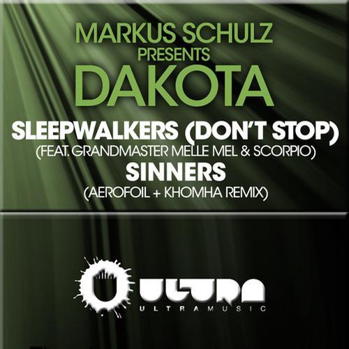 Album Art - Sleepwalkers (Don't Stop) / Sinners (The Remixes)