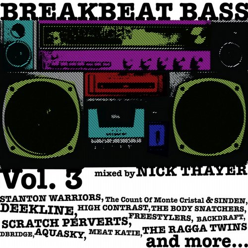 Album Art - Breakbeat Bass, Vol. 3 (Mixed By Nick Thayer)