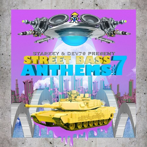 Album Art - Starkey & Dev79 Present Street Bass Anthems, Vol. 7