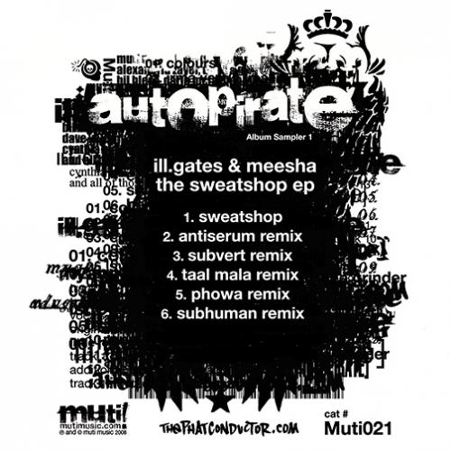 Album Art - The Sweatshop EP