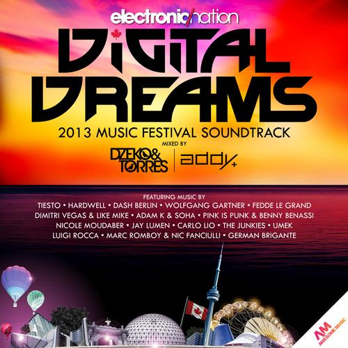 Album Art - Digital Dreams 2013 Music Festival Soundtrack