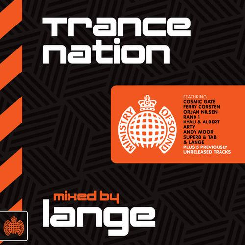 Trance Nation (Mixed by Lange) - Ministry of Sound Album Art