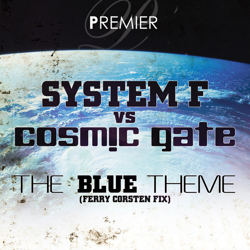Album Art - The Blue Theme (Ferry Corsten Fix)