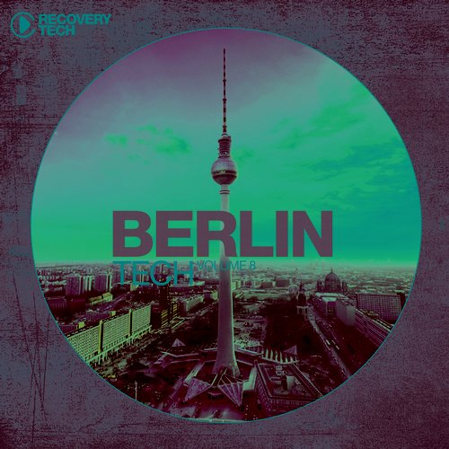 Album Art - Berlin Tech Vol. 8