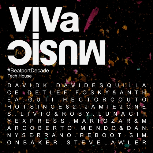 Album Art - VIVa MUSiC #BeatportDecade Tech House
