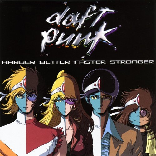 Album Art - Harder Better Faster Stronger