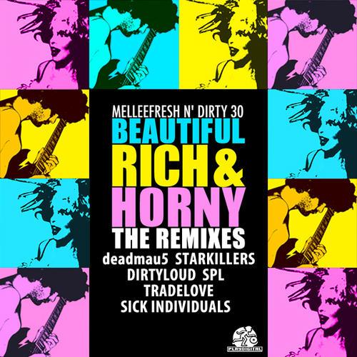 Album Art - Beautiful, Rich & Horny