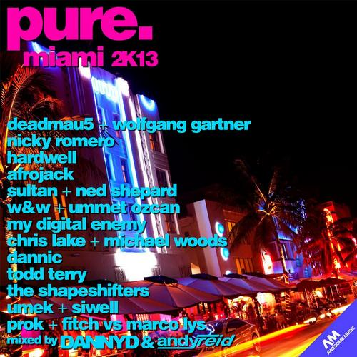 Album Art - Pure. Miami 2K13