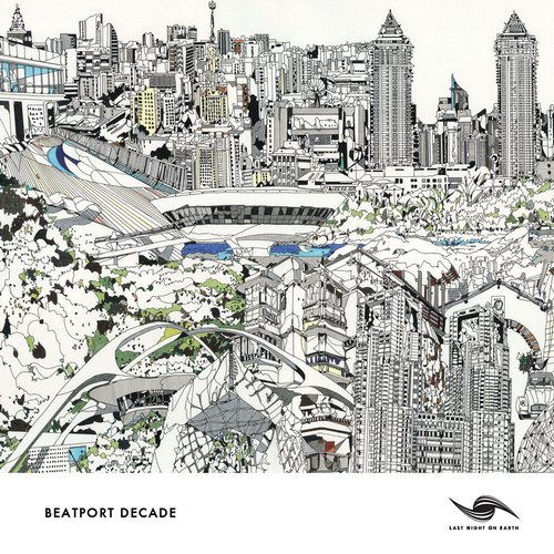 Last Night On Earth #BeatportDecade Tech House Album Art
