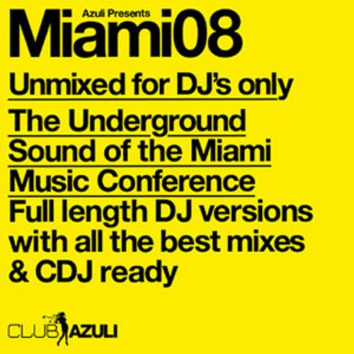 Album Art - Azuli Presents Miami 2008 : Unmixed