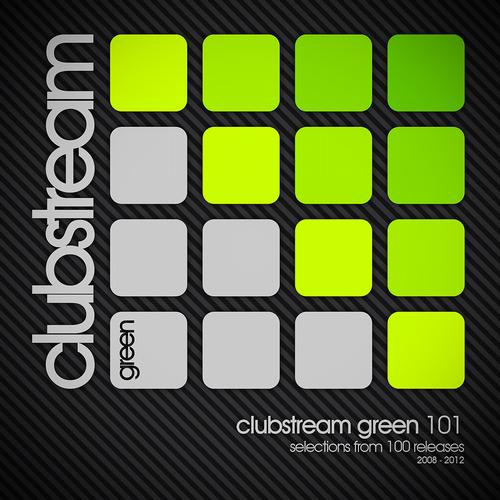 Album Art - Clubstream Green 101 - Selections From 100 Releases 2008-2012
