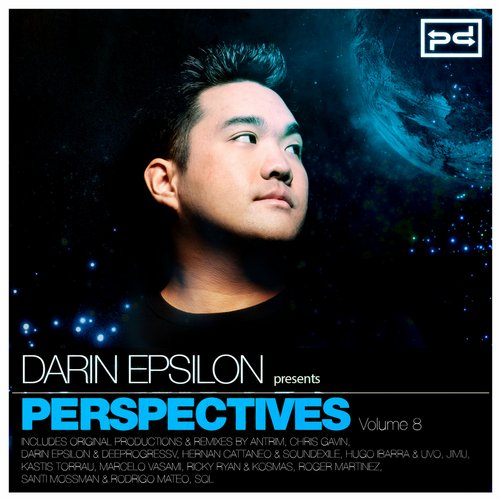 Album Art - Darin Epsilon Presents Perspectives, Vol. 8