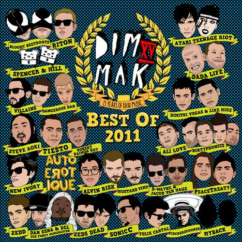 Album Art - Dim Mak Records Best Of 2011
