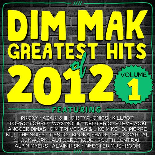 Album Art - Dim Mak Greatest Hits of 2012, Vol. 1