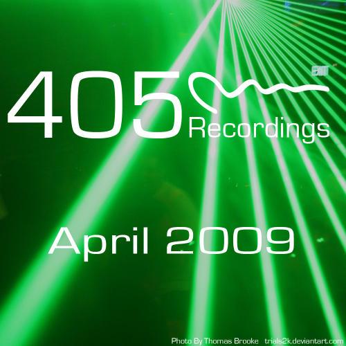 Album Art - 405 Recordings April 2009