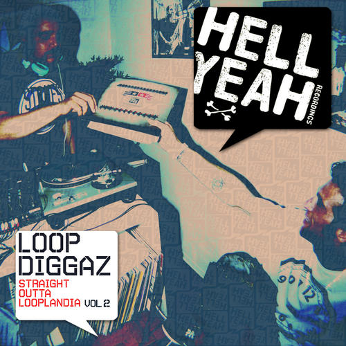 Album Art - Loopdiggaz - Straight Outta Looplandia Volume 2