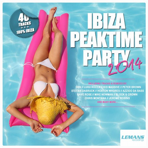Album Art - Ibiza Peaktime Party 2014