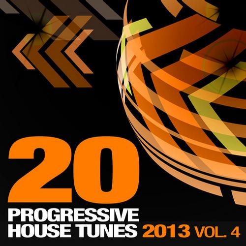 Album Art - 20 Progressive House Tunes 2013, Vol. 4