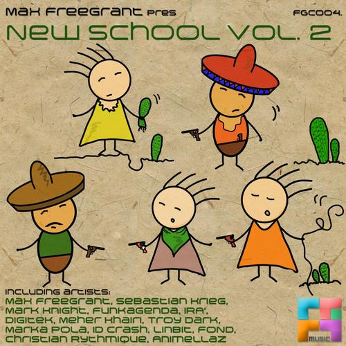 Album Art - Max Freegrant pres. New School vol.2