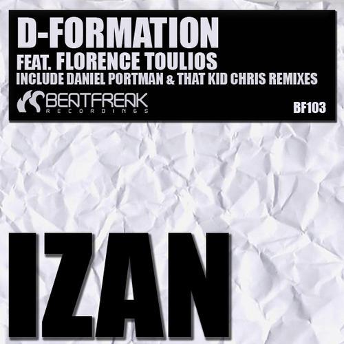 Album Art - D-Formation feat. Florence Toulios - Izan