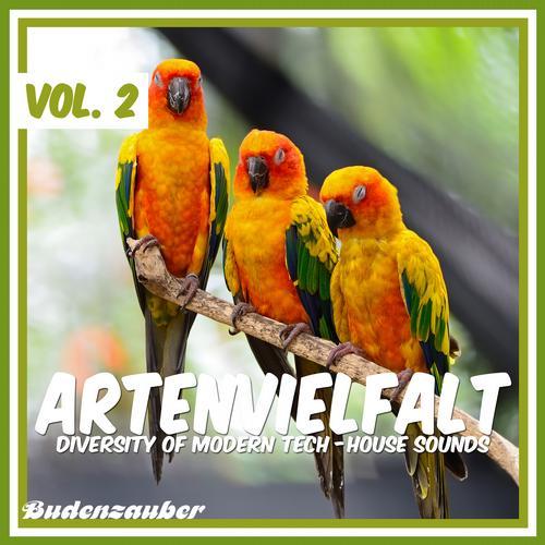 Album Art - Artenvielfalt Vol. 2 - Diversity of Modern Tech-House Sounds