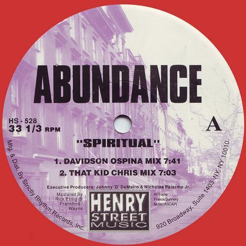 Spiritual (Remastered) Album Art