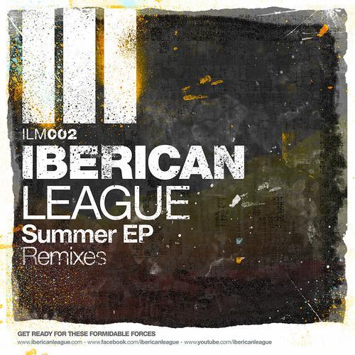 Album Art - Iberican League Summer EP Remixes