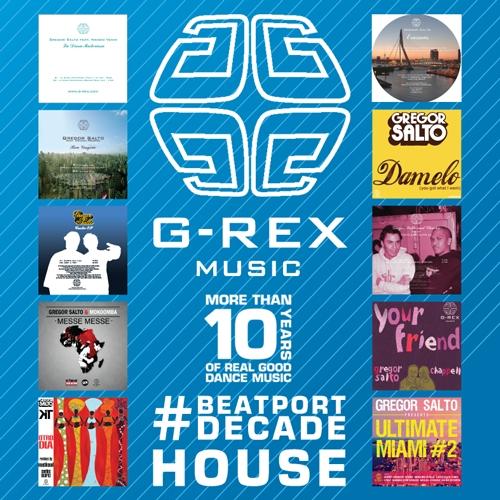 Album Art - G-REX Music #BeatportDecade House