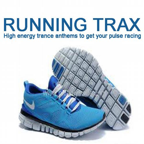 Album Art - Running Trax - High Energy Trance Anthems To Get Your Pulse Racing