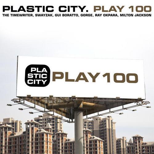 Album Art - Plastic City. Play100