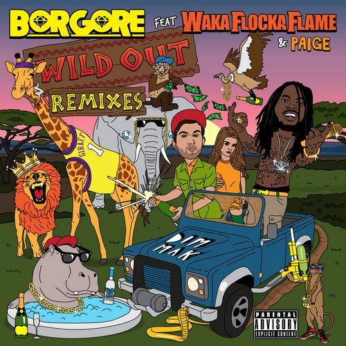 Album Art - Wild Out (feat. Waka Flocka Flame & Paige)