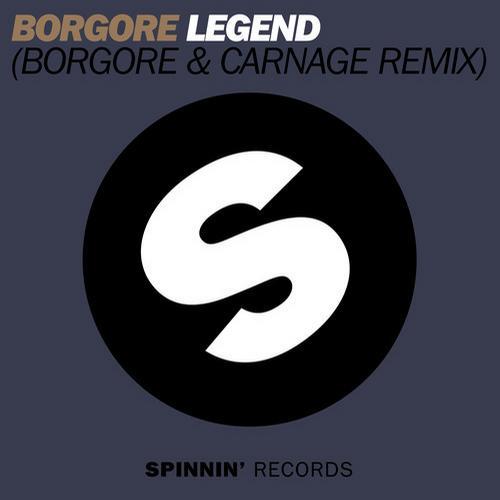Album Art - Legend (Borgore & Carnage Remix)