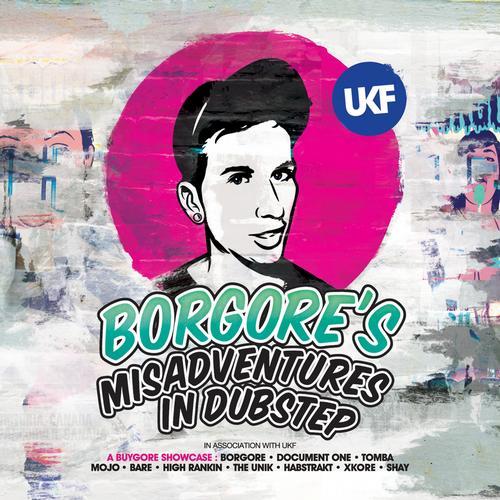 Album Art - Borgore's Misadventures In Dubstep