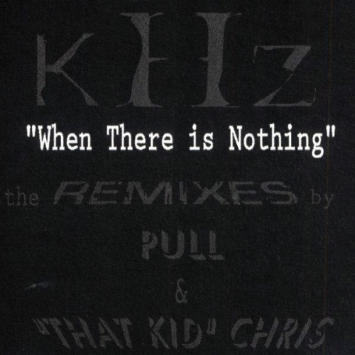 Album Art - When There Is Nothing