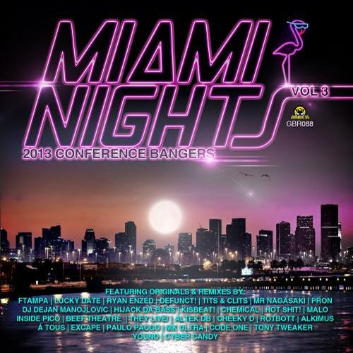 Album Art - Miami Nights Vol 3 - 2013 Conference Bangers