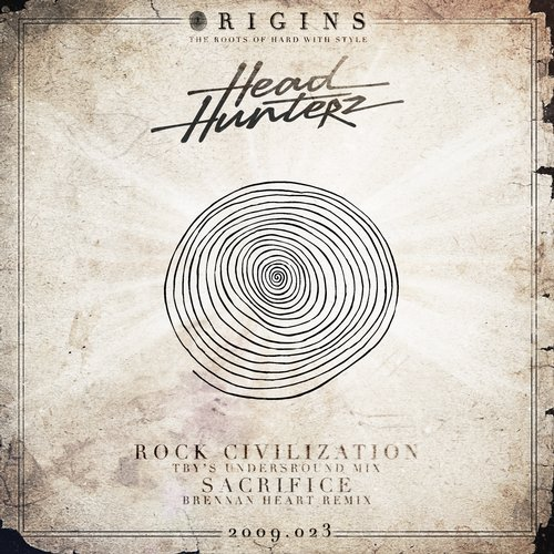 Album Art - Rock Civilization / The Sacrifice Remixes