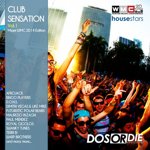 Album Art - Club Sensation 1 (Miami WMC 2014 Edition)