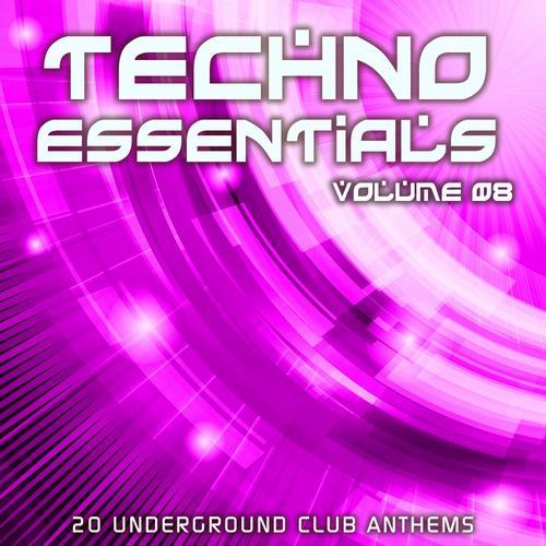 Album Art - Techno Essentials Volume 08