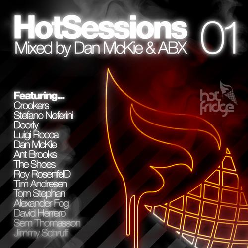 Album Art - HotSessions 01 - Mixed By Dan McKie & ABX