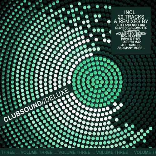 Album Art - Clubsound//Deluxe - Volume Three