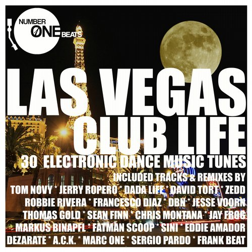 Album Art - Las Vegas Club Life (30 Electronic Dance Music Tunes)