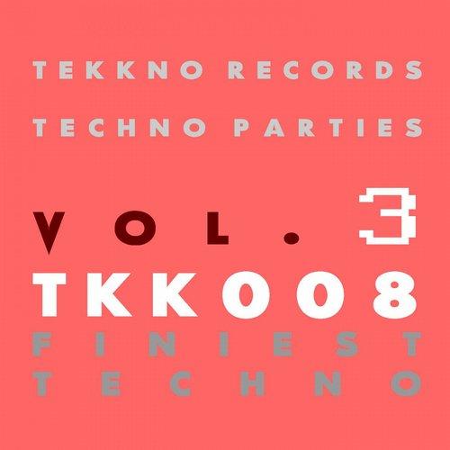 Album Art - Techno Parties Vol.3