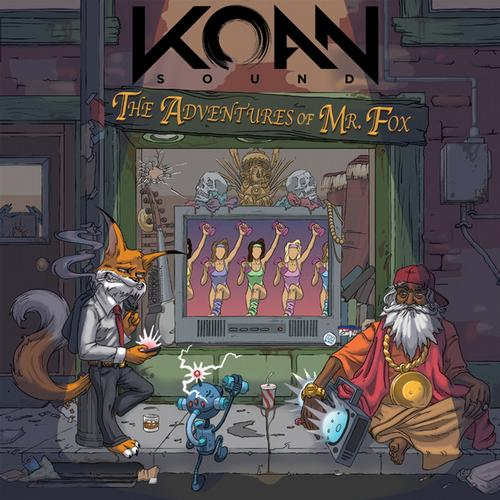 Album Art - The Adventures of Mr. Fox EP