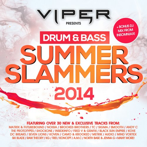 Album Art - Drum & Bass Summer Slammers 2014 (Beatport Version)